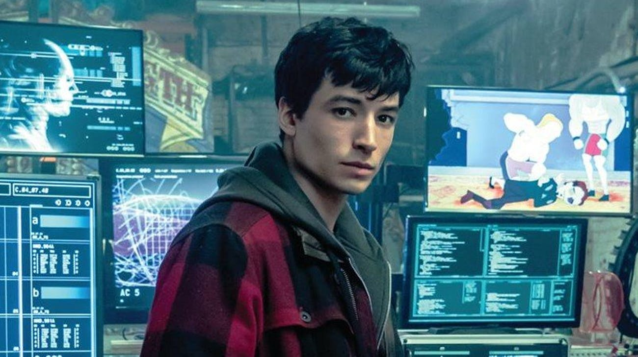 By the time 'Justice League' ends, Barry gets himself a job.