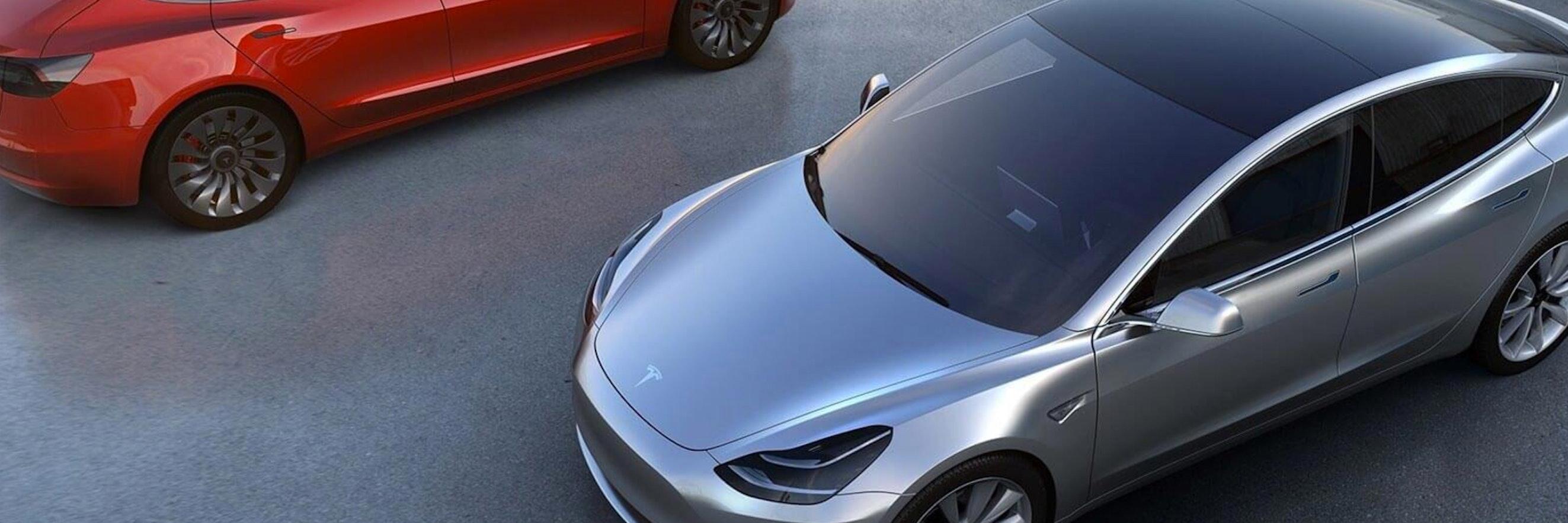 Terminator Driving Tesla Auto Car