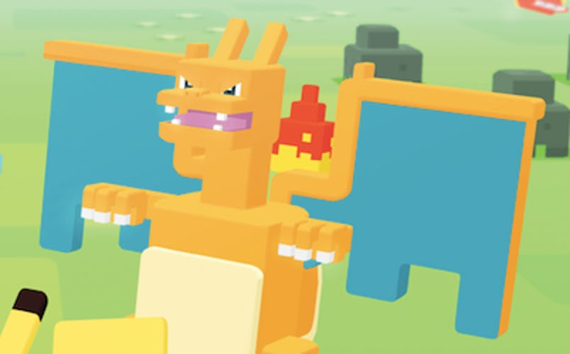 Charizard in 'Pokémon Quest'