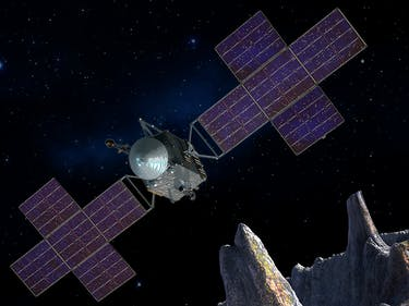 NASA Moves Up Schedule for Mission to Metal Asteroid