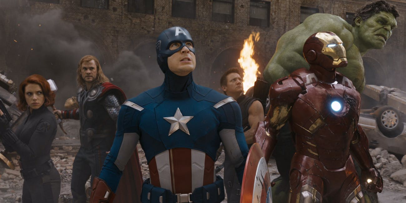 The Avengers Marvel MCU