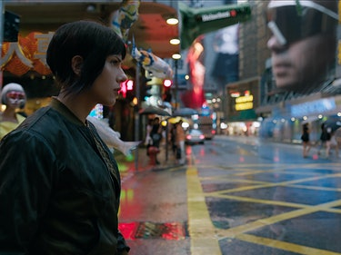 'Ghost in the Shell' Costumes Changed for a New Retro Future