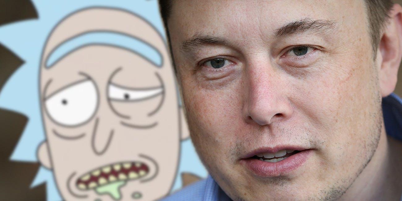 Elon Musk Adult Swim