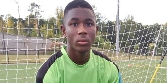 Nsemoh was the goalie for an elite, private, youth soccer team.