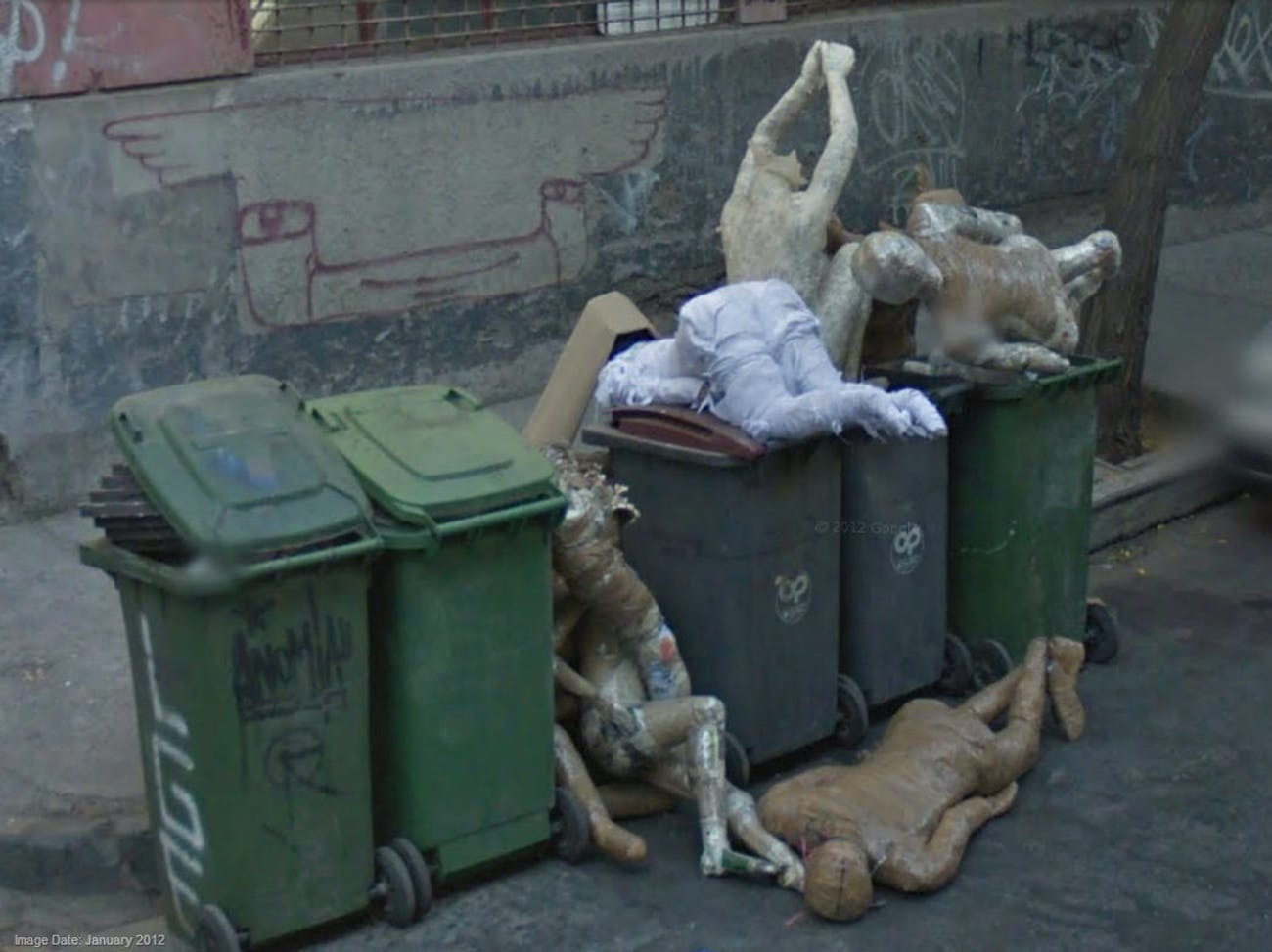 15 Google Maps Images That Seem to Freak People Out ... on google street view zombie, google dead body, google earth dead, google zombie map, google earth street view funny, android dead, google street dead, google the dead gentleman, map of walking dead,