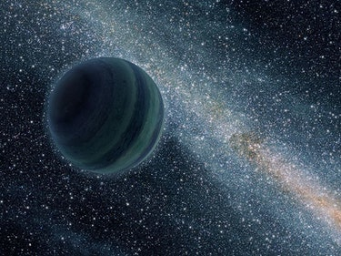 Is Planet Nine a Rogue Planet?