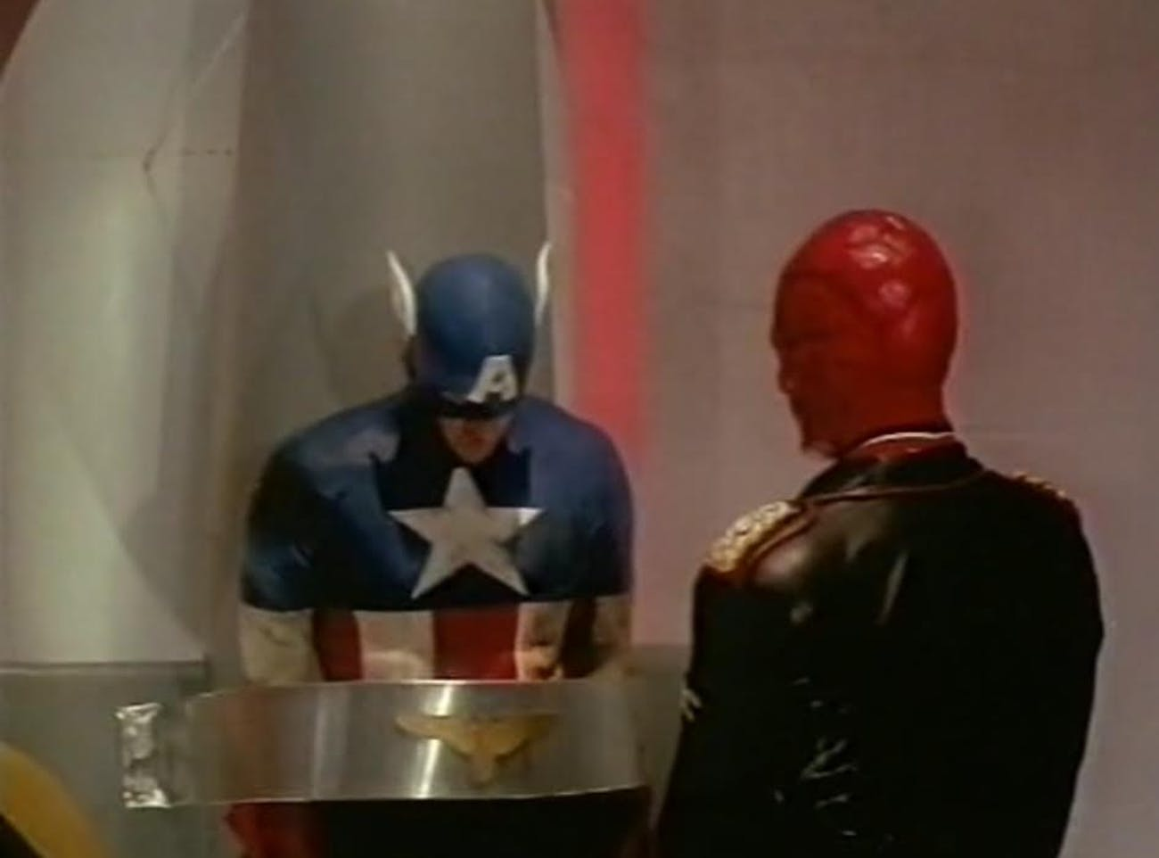 marvel movies captain america 1990 review