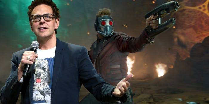 Guardians of the Galaxy director fired