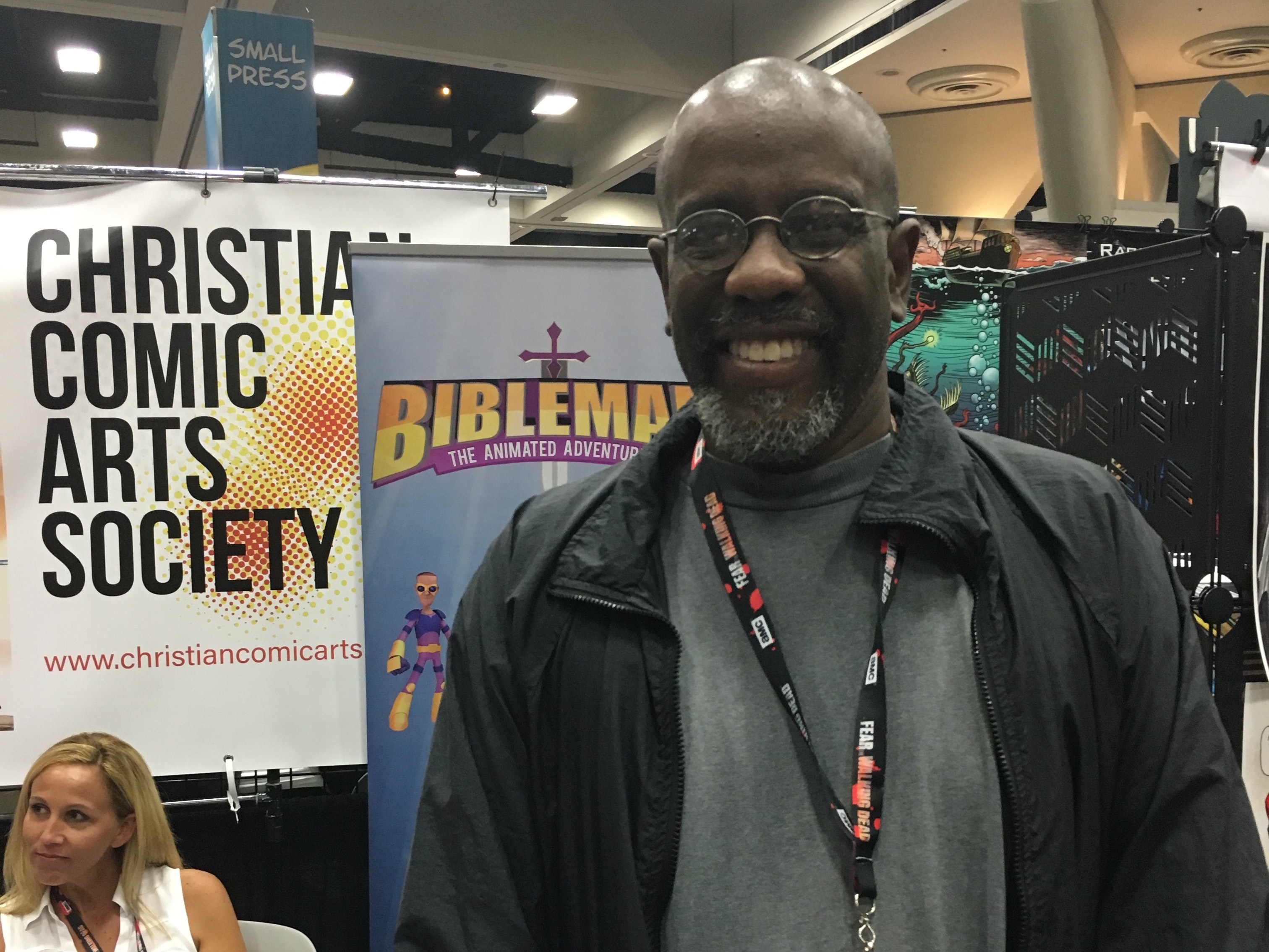 Jesus Christ, Superhero: Inside Christianity's Comic-Con Booth