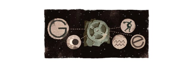 Antikythera Mechanism google doodle computer ancient greece greek