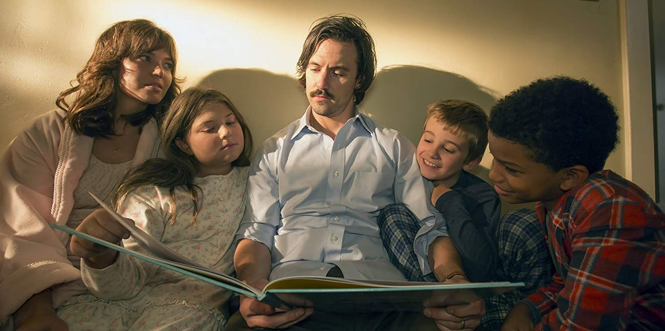 Cast of 'This Is US' including Mandy Moore and Milo Ventimiglia