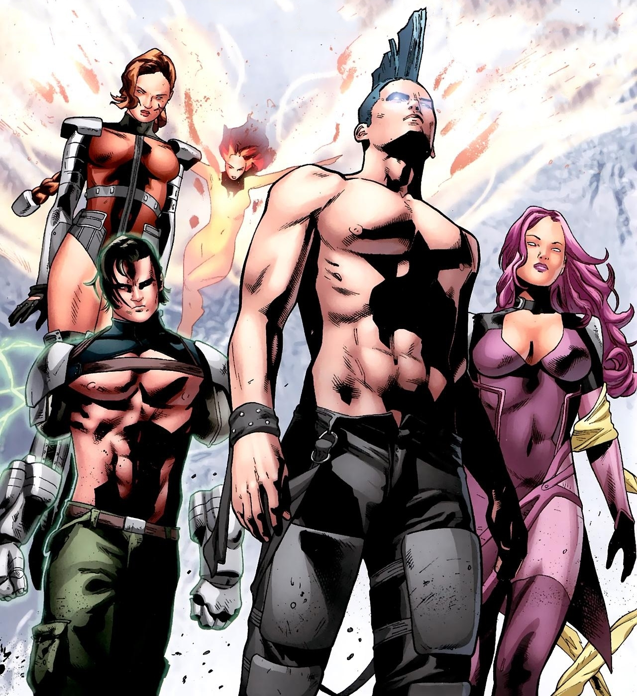Age of X Legion Force Warriors
