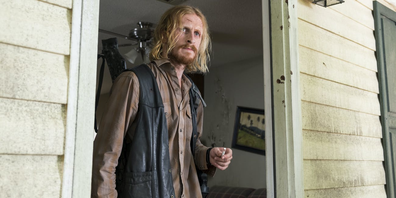 Austin Amelio as Dwight in 'The Walking Dead' Season 7 Episode 11