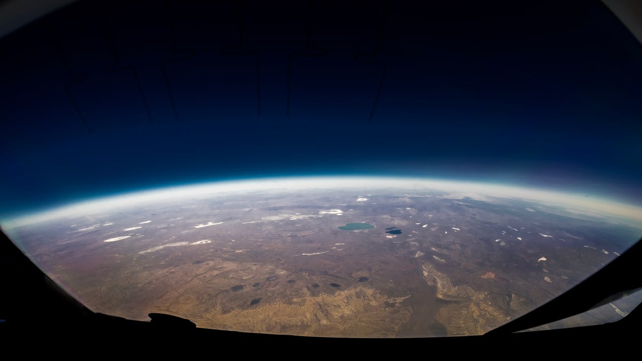 earth from space, space, nature