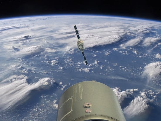 "DARPA's O2 Network Helps Satellites Navigate Space ""Minefield"""