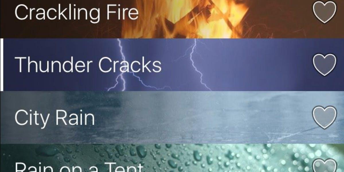 Rain Rain app