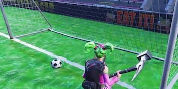 Soccer in 'Fortnite' is hard.
