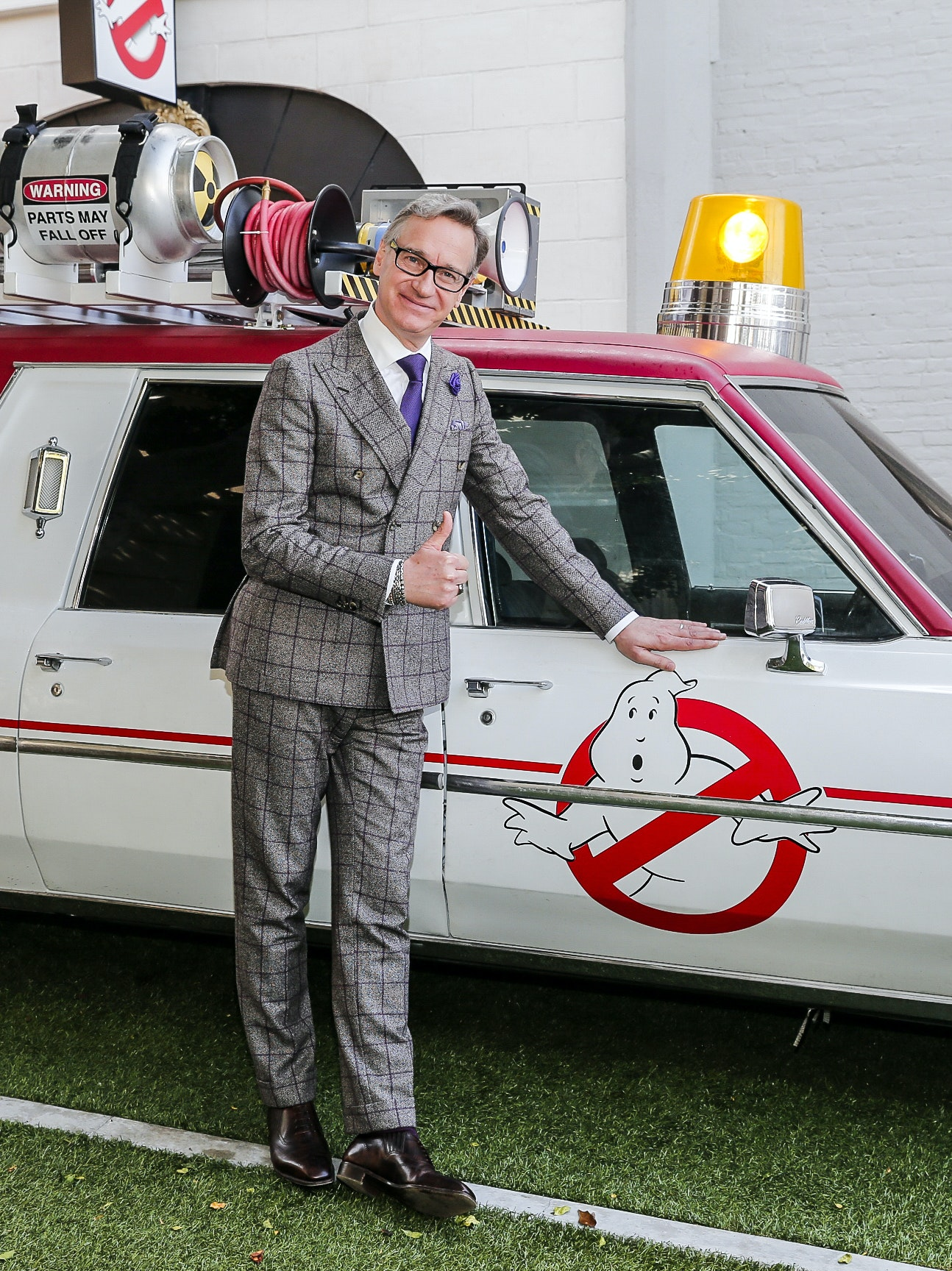 CULVER CITY, CA - MARCH 02:  Director Paul Feig poses for a photo at the Ghostbusters Fan Event at the Columbia Pictures' GHOSTBUSTERS Fan Event on the Sony Lot at Sony Pictures Studios on March 2, 2016 in Culver City, California.  (Photo by Rich Polk/Getty Images for Sony Pictures Entertainment)