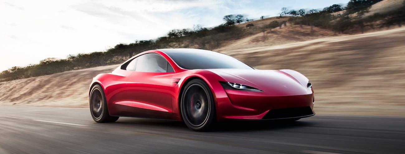 Peugeot E Legend Vs Tesla Roadster Electric Cars Of The Future