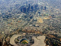 Dodger Stadium-Downtown L.A.