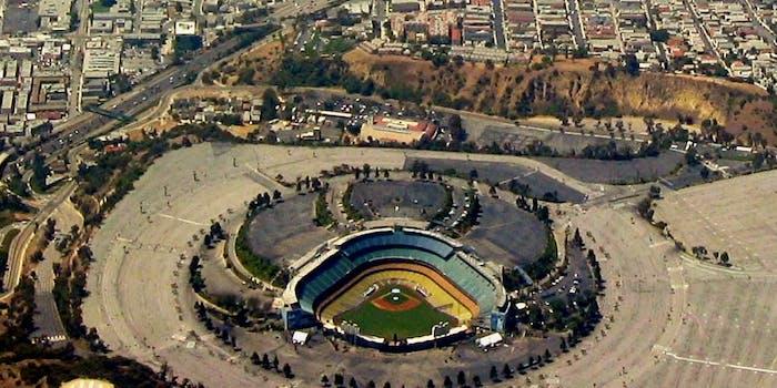Dodger Stadium-Downtown L.A.