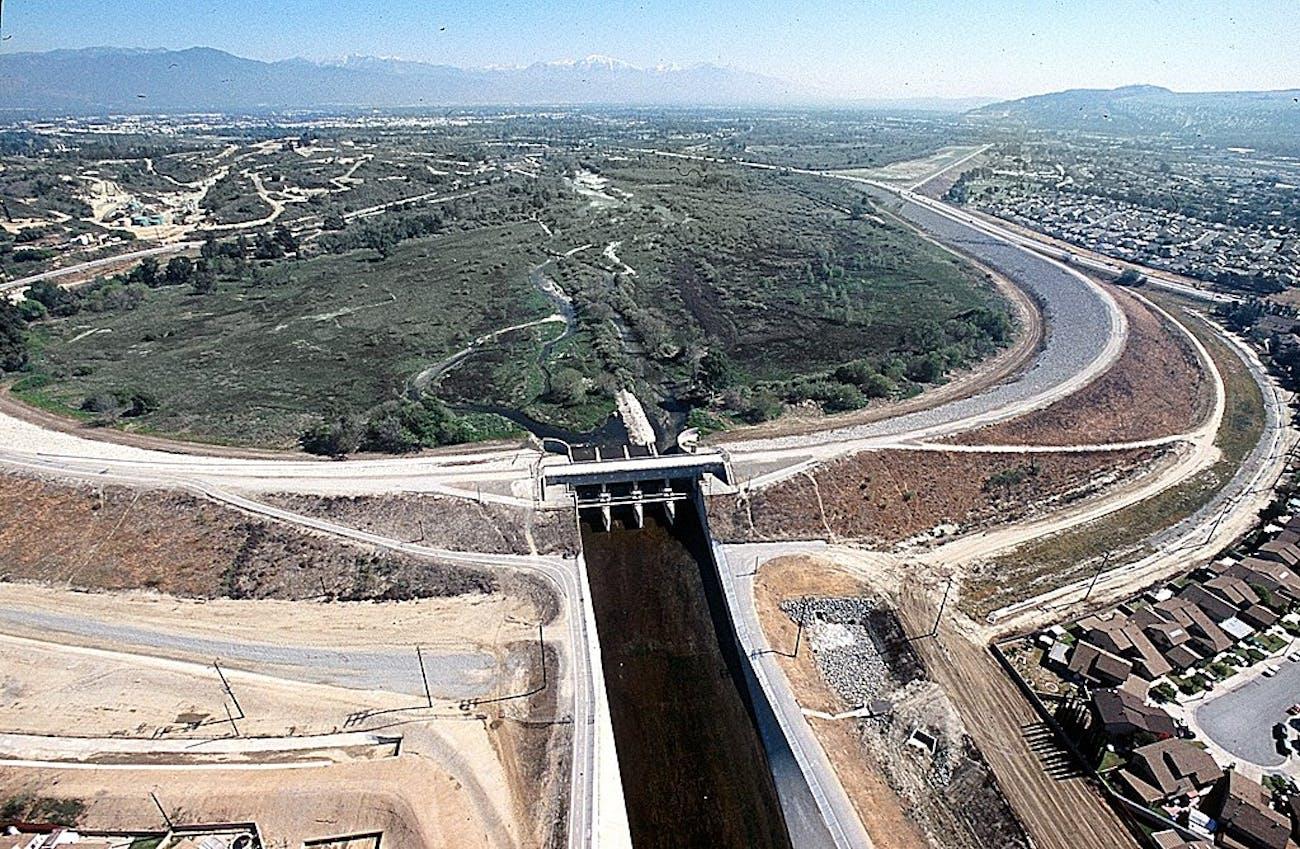 Whittier Narrows Dam