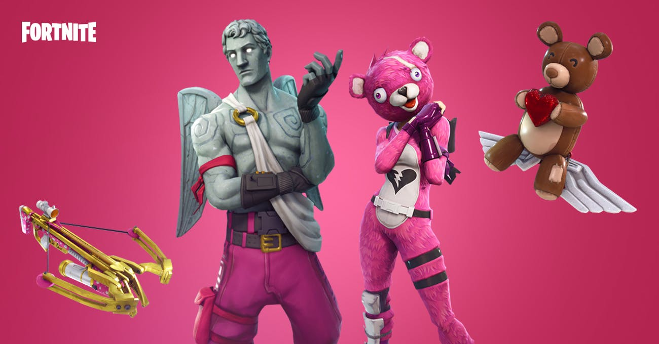 fortnite valentine s day gear - fortnite patch notes 510