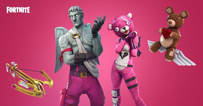 'Fortnite' Valentine's Day gear