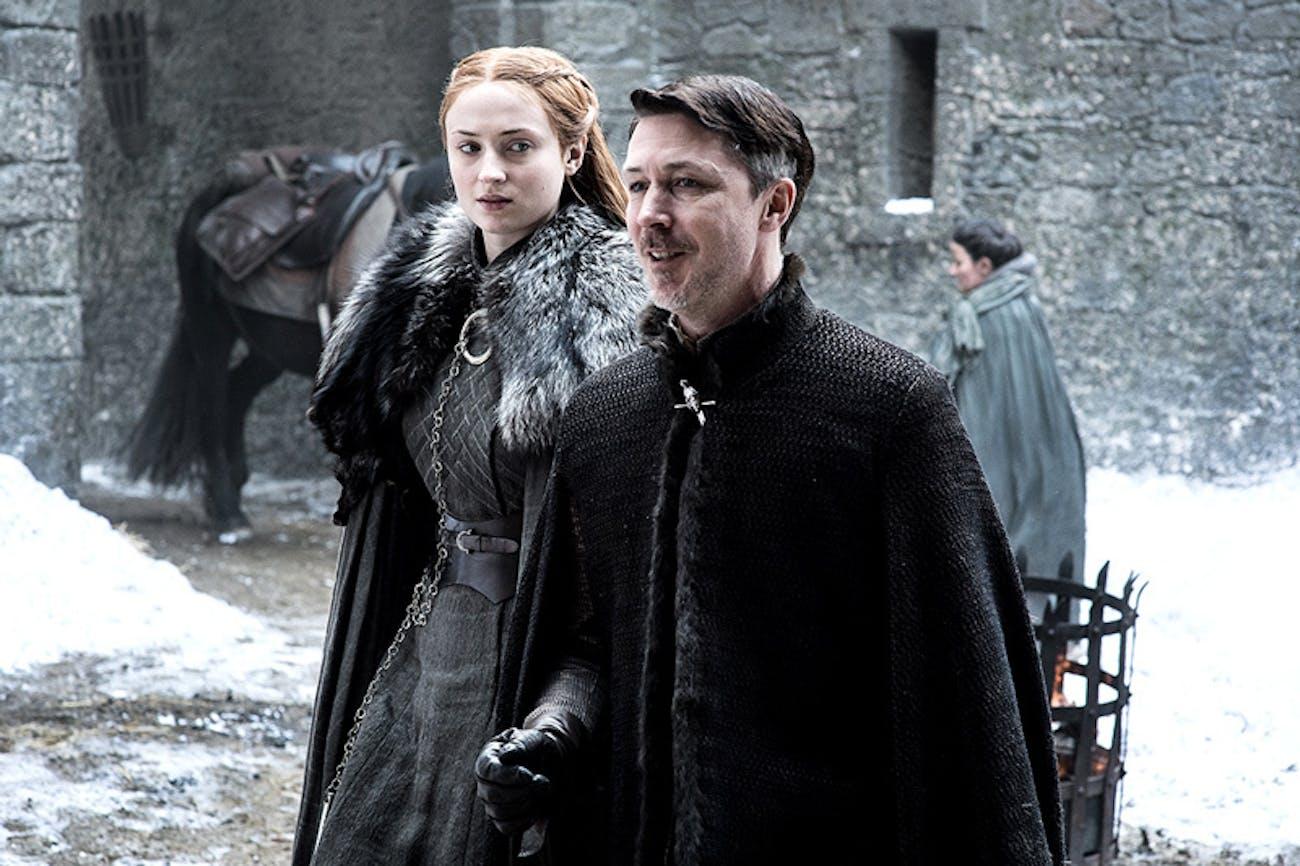 Sophie Turner as Sansa Stark in 'Game of Thrones' Season 7