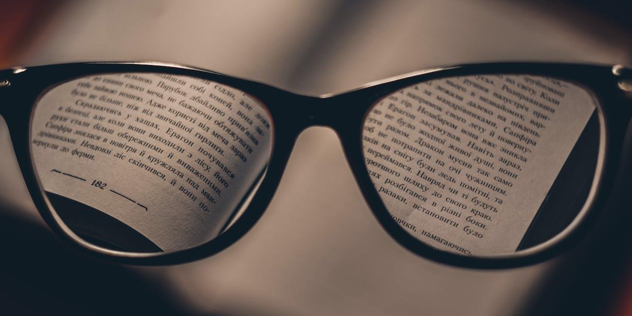 Glasses focus in on book translation