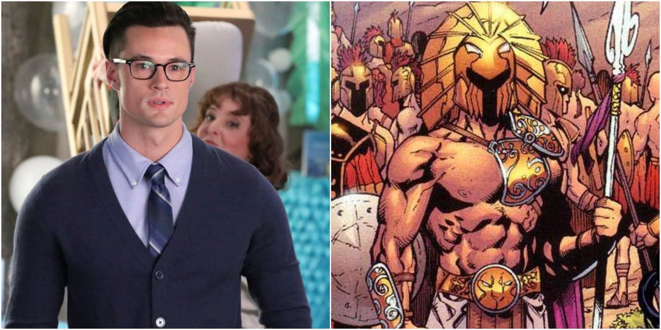 Alex, who super isn't The Olympian on 'Powerless,' and the hero from the original DC comics.