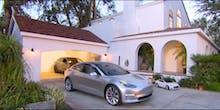 Elon Musk Says Tesla's Solar Roof Tiles Go On Sale in April