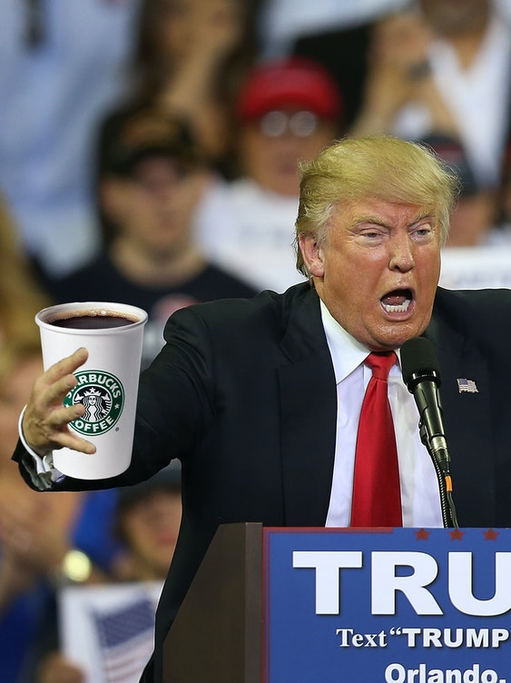 Conservatives keep trying to protest Starbucks by paying them money.