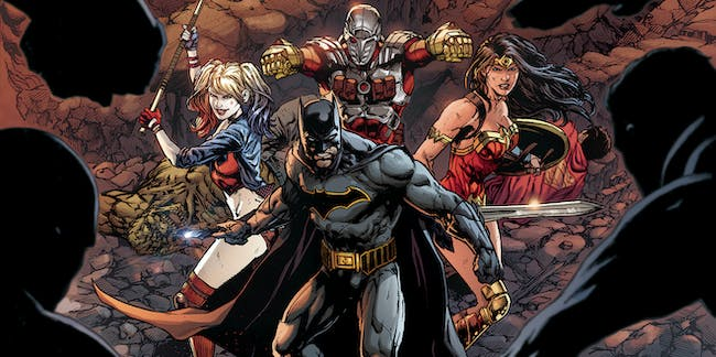 Justice League vs Suicide Squad Cover