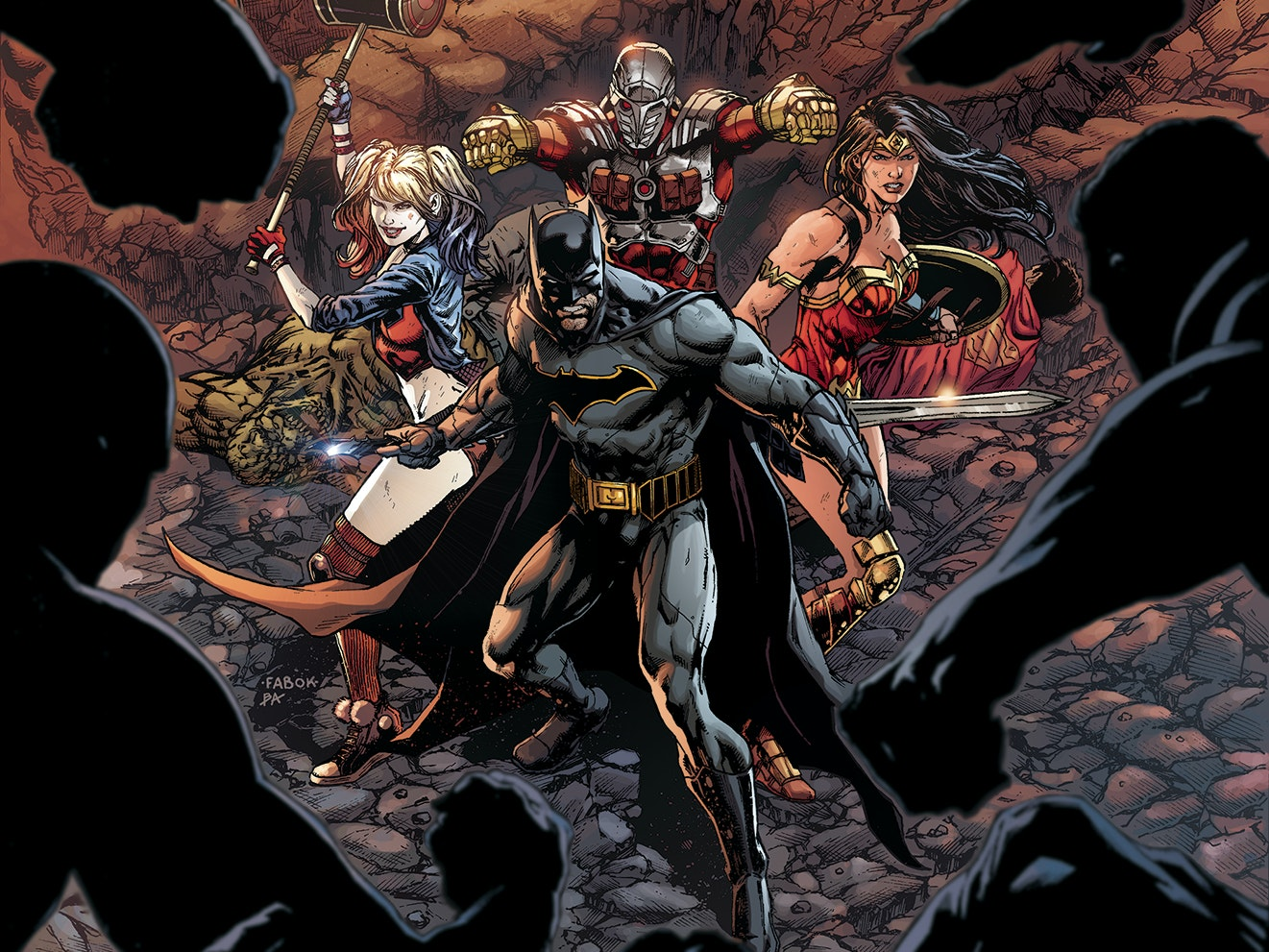 'Justice League vs. Suicide Squad' Is an Epic Team-Up, Not a War