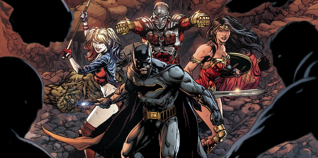 Justice League vs Suicide Squad Cover