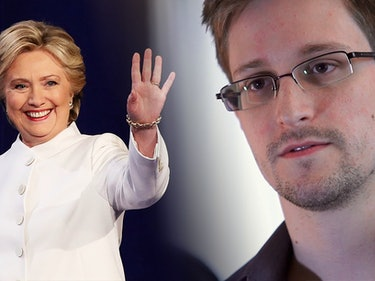 Edward Snowden Debunks Theory About Clinton Emails in One Tweet