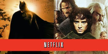 Netflix Batman Lord of the Rings