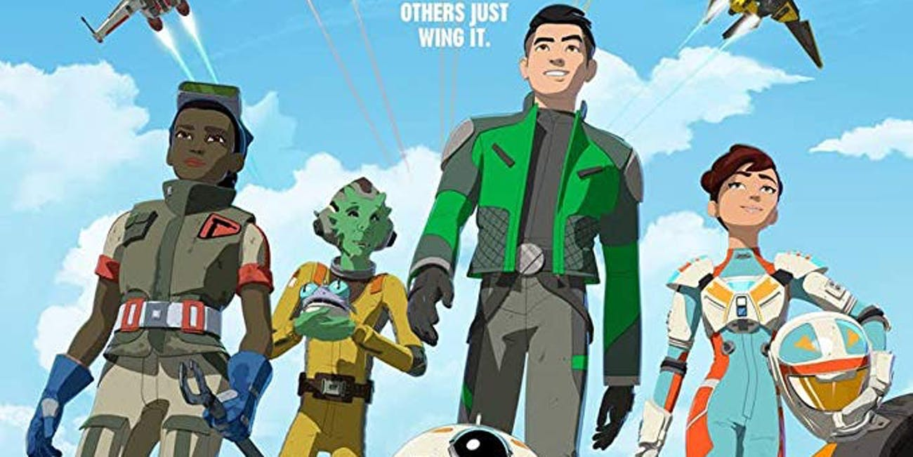 'Star Wars Resistance' Team Fireball