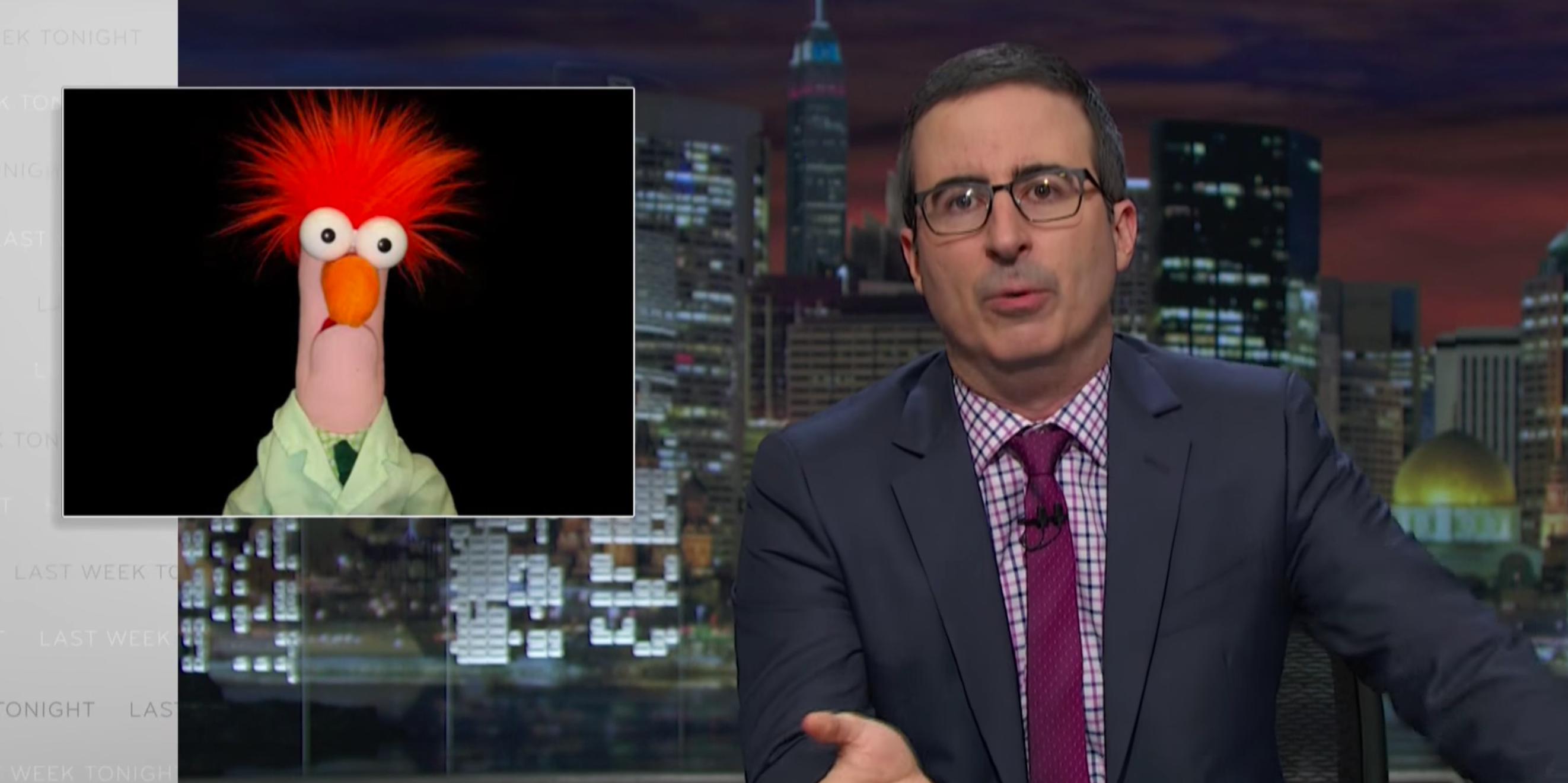John Oliver Mocks Scientific Study Reports on 'Last Week Tonight,' Debuts Todd Talks