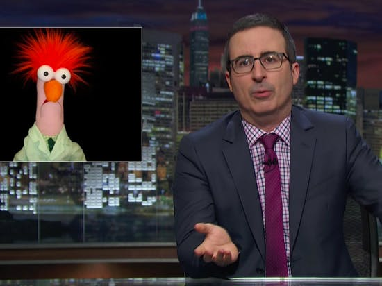 John Oliver Mocks Scientific Study Reports on 'Last Week Tonight,' Debuts Todd Talks