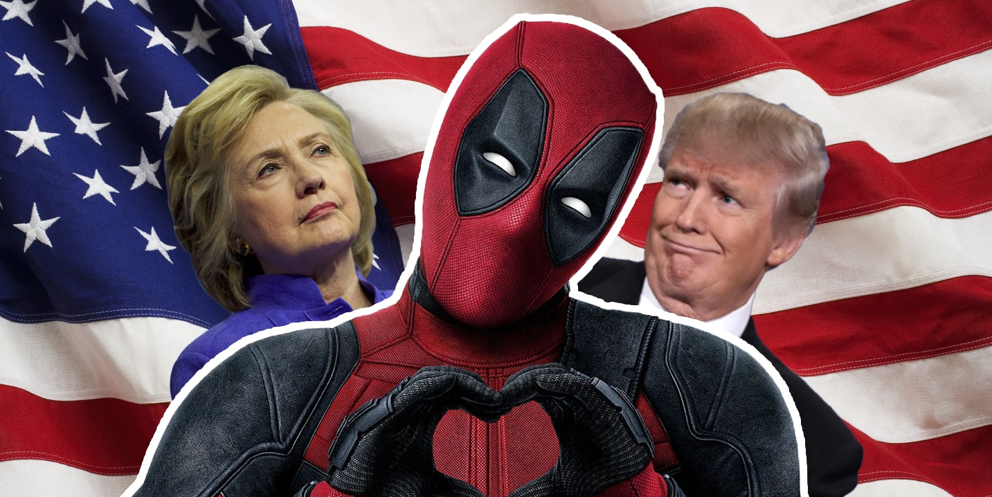 Deadpool for president?