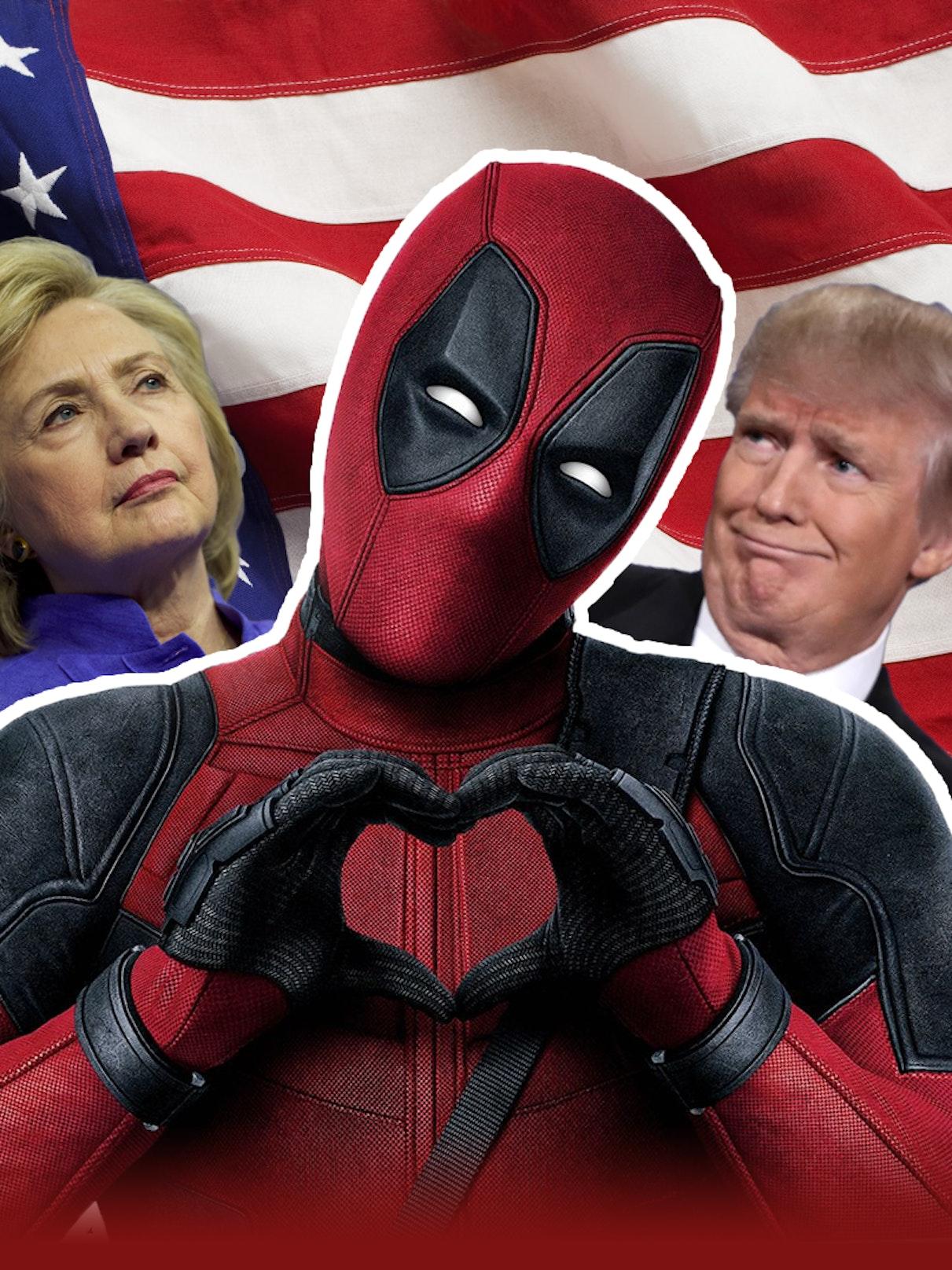 Deadpool for president?
