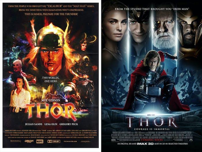 Thor Mel Gibson
