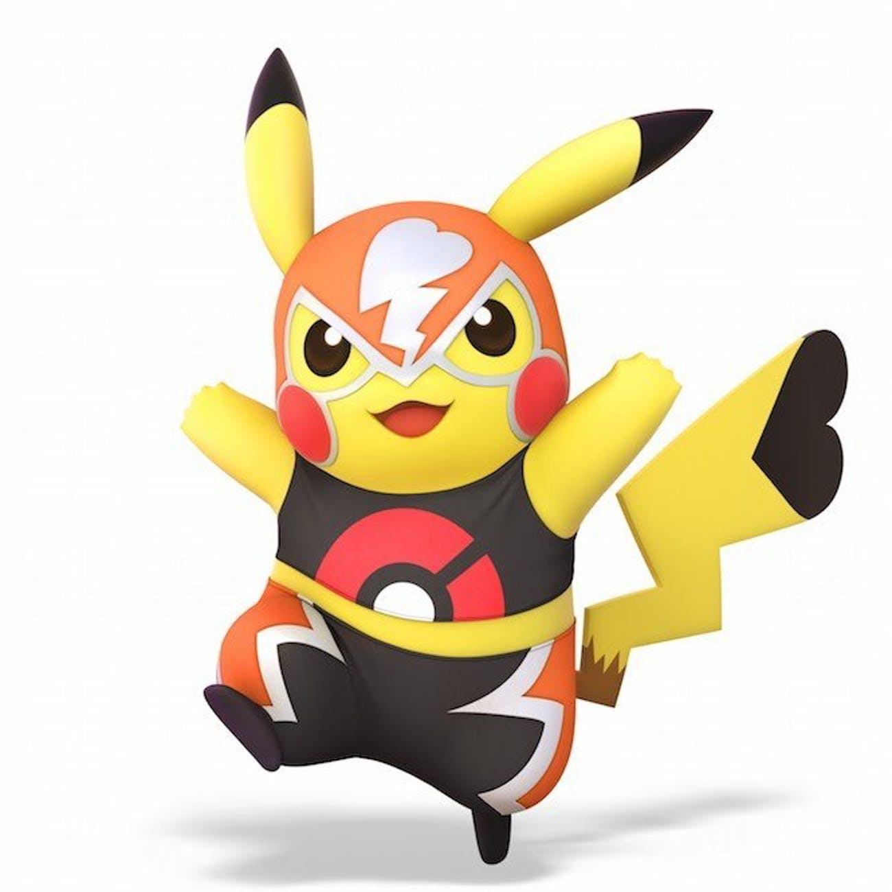 Pikachu goes lucha in Smash Bros. Ultimate