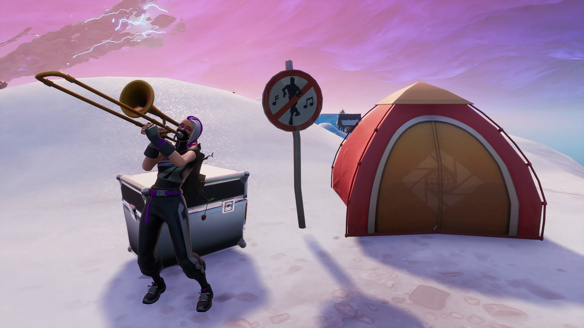 Fortnite' No Dancing Sign Locations: Where to Find Them for