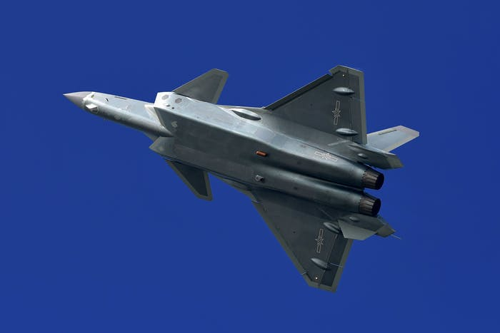 PLAAF J-20 Stealth Fighter Photo