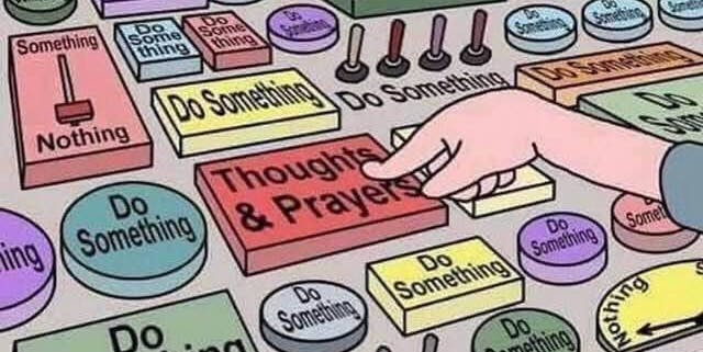 Image result for thoughts and prayers