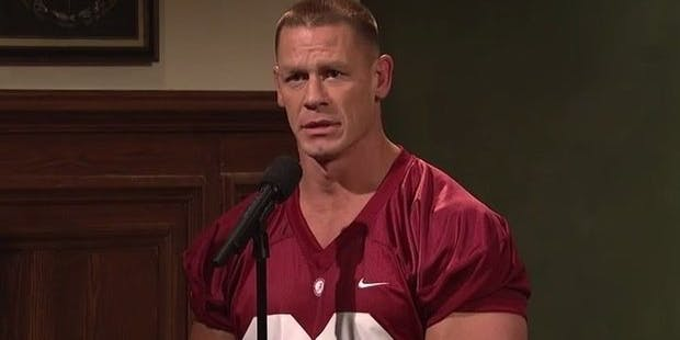 All John Cena wants is an A+.