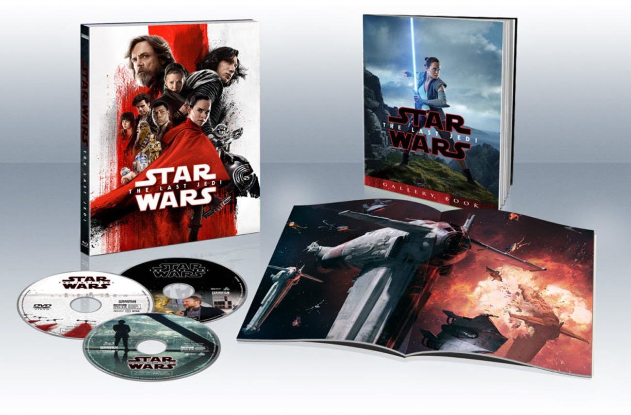 The Target Exclusive Blu-ray set.